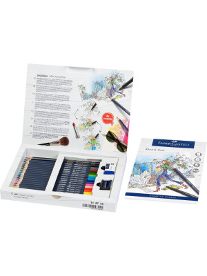 Goldfaber colour pencil, gift set, 23 pieces