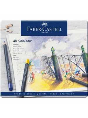 Creioane Colorate Goldfaber
