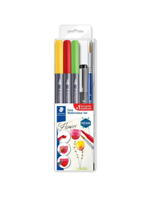 STAEDTLER® 3001 Double-ended watercolour brush pen set
