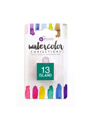Watercolor Confections - Island