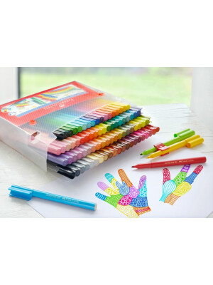Gift set Connector felt-tip pen 80 pcs