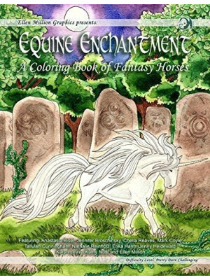 Equine Enchantment - coloring book