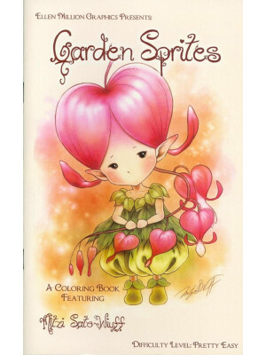 Garden Sprites - coloring book Mitzi Sato-Wiuff