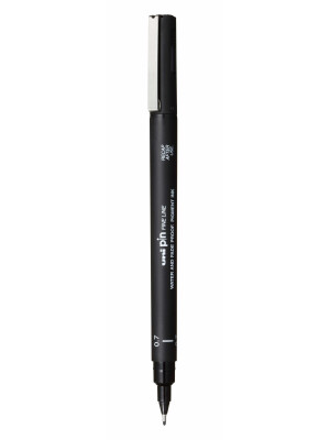 uni PIN 07 Fine Liner Drawing Pen 0.7mm