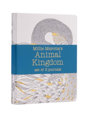 Millie Marotta's Animal Kingdom - journal set : 3 notebooks