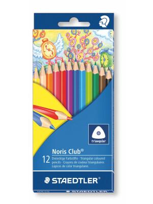 Set 12 creioane color Triplus