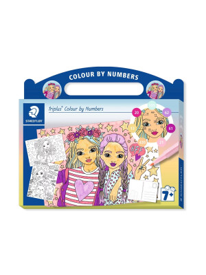 Set triplus® Colour by Numbers - Fashion