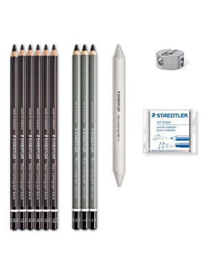 Mars® Lumograph® charcoal 100C Charcoal pencils - Staedtler