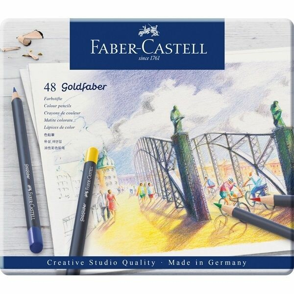 Creioane Colorate Goldfaber Faber-Castell