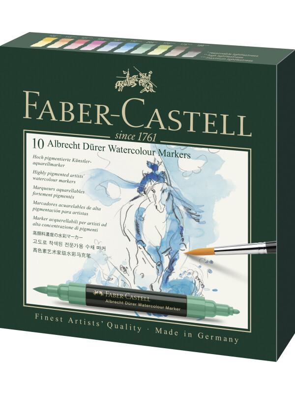 Set 10 Markere Solubile A.Durer Faber-Castell
