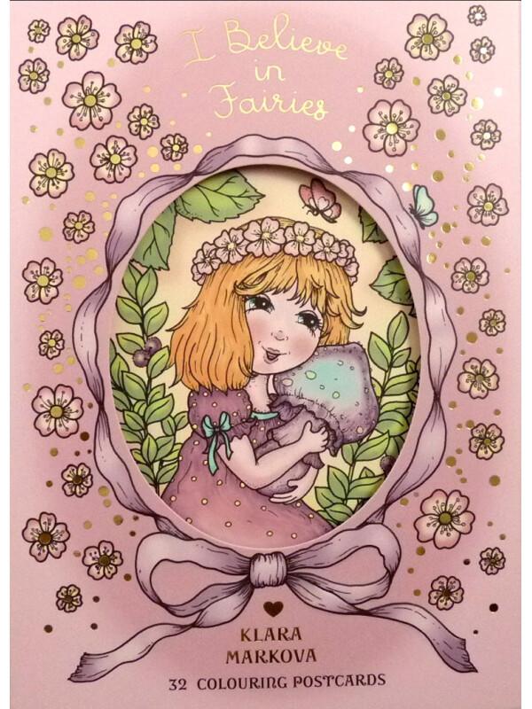 I Believe in Fairies (Cred în zâne) cărți poștale de Klara Markova