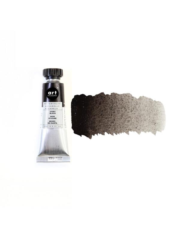 Tub acurela 15ml - Art Philosophy® Artist Grade - Ivory Black