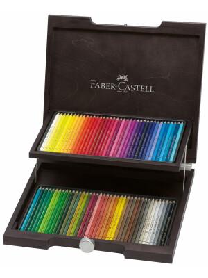 Cutie Lemn 72 Creioane Colorate Polychromos Faber-Castell