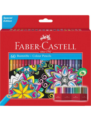 111260_Colour pencil Castle box of 60_Office_32280