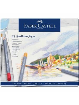 Creioane Colorate Aquarelle Goldfaber