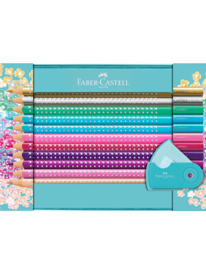 Sparkle colour pencil set Faber Castell
