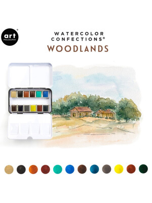 Acuarele Watercolor - Woodlands