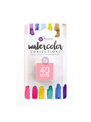 Watercolor Confections - Rose