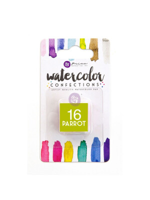 Watercolor Confections - Parrot