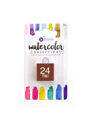 Watercolor Confections - Tiki
