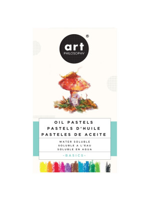 WATERSOLUBLE OIL PASTELS – BASICS