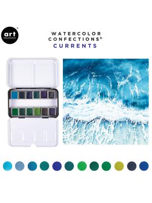 Watercolor Confections: Currents