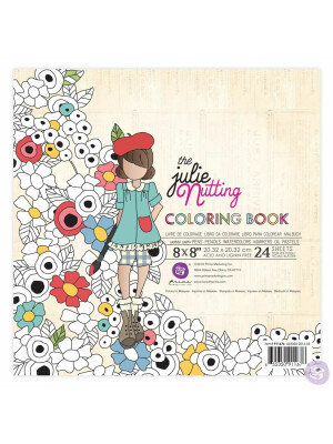 Julie Nutting watercolor paper Coloring Book