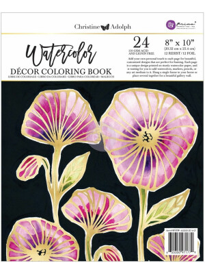 Christine Adolph Foil Watercolor Book