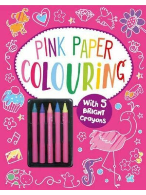 Pink Paper Colouring Book