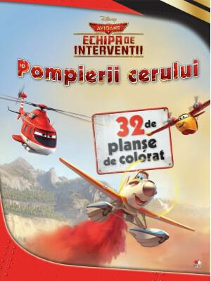Avioane. Pompierii Cerului - Planse De Colorat