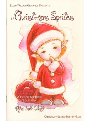 Christmas Sprites - coloring book Mitzi Sato-Wiuff