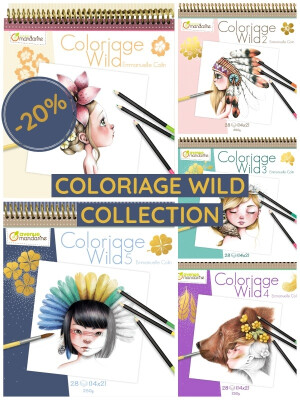 Coloriage Wild Collection