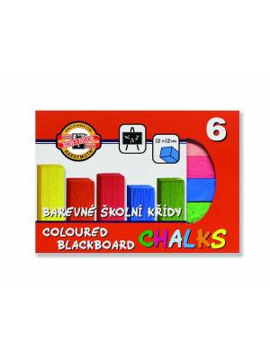 Creta scolara 6 culori
