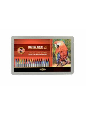 Set creioane fara lemn PROGRESSO Aquarell