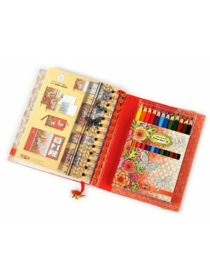 Set Jurnal & Set 12 Creioane Polycolor - Koh-I-Noor