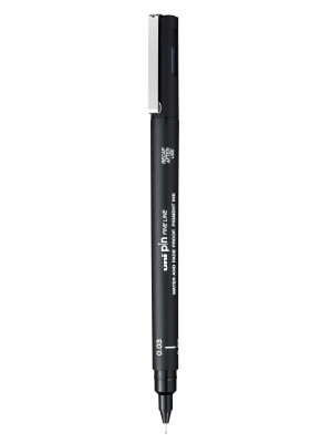 uni PIN 003 Fine Liner Drawing Pen 0.03mm