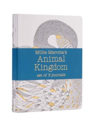 Millie Marotta's Animal Kingdom - journal set : 3 notebooks