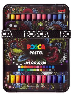 Posca Pastels – 24 colors set