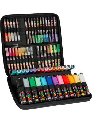 UNI Posca 60 markers case