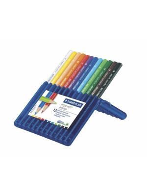 Set 12 creioane color Ergosoft Jumbo