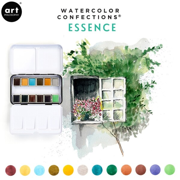 Watercolor Confections - Essence