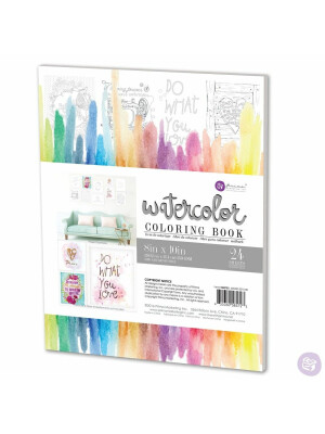 Watercolor Coloring Book