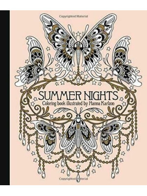 Summer Nights Coloring Book - Editie UK