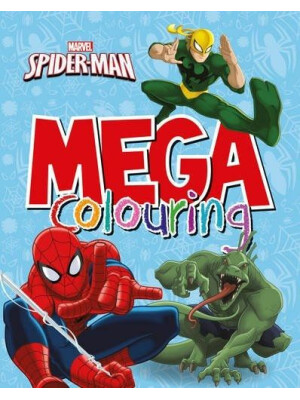 Marvel Spiderman Mega Colouring Book