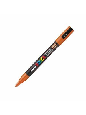 Marker UNI PC-3M L Posca sclipici orange