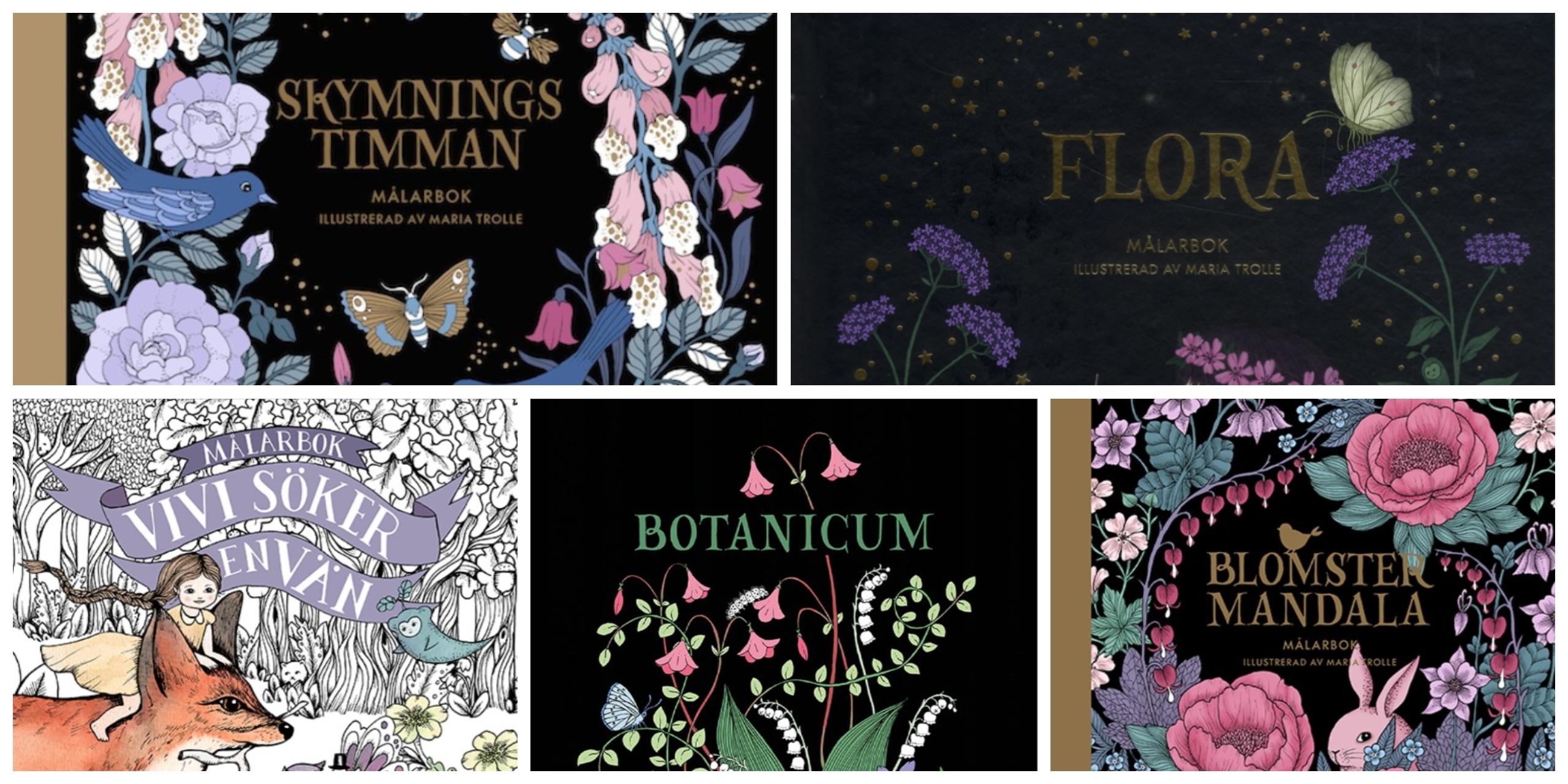 Maria Trole books