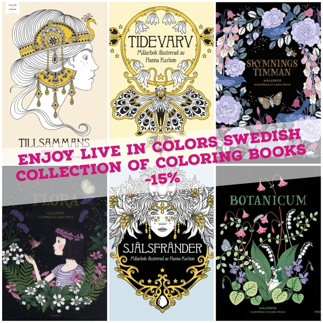 Live in Colors Swedish collection