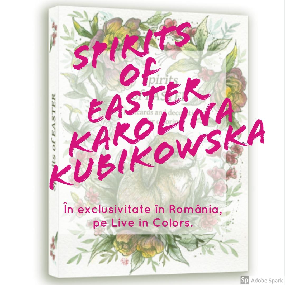 Spritul sărbătorilor de Paște. Cărți poștale și decorațiuni de colorat.